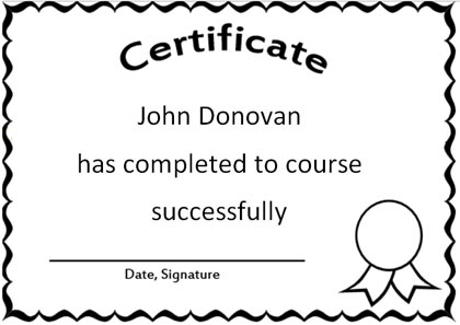 Marvelous Certificate Word Template Within Certificate In Word
