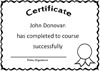 Free Certificate Word Template - print it, edit it