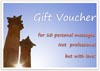 Gift Voucher for Massage as a printable template