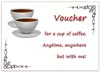 Printable Gift Voucher for a Coffee for Two
