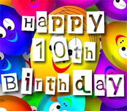 10th birthday wishes and text messages m4hsunfo