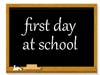 Chalkboard 1st Day School