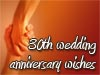 30th wedding anniversary wishes