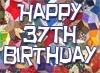 37th Birthday Wishes
