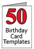 Free 50th Birthday Card Templates