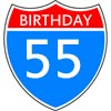 Sayings and Congratulations for the 55th Birthday