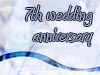 7th Wedding Anniversary Wishes