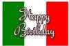 Italy Happy Birthday