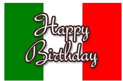 Italian Birthday Messages And Wishes For Cards