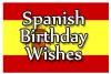 Happy Birthday in Spain