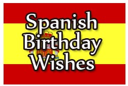 Happy Birthday Wishes Spanish 252x169